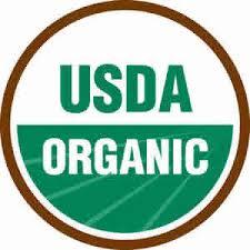 米国農務省(United States Department of Agriculture)のオーガニック認証のマーク