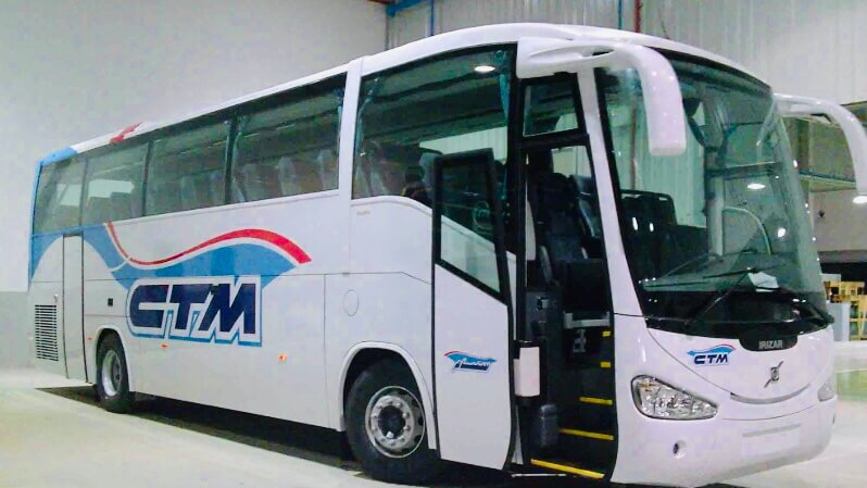 CTMバスの車体