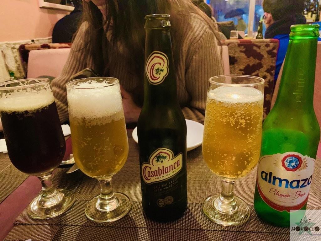 複数の北アフリカのビール