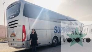 スプラトゥーンのバスの車体と人