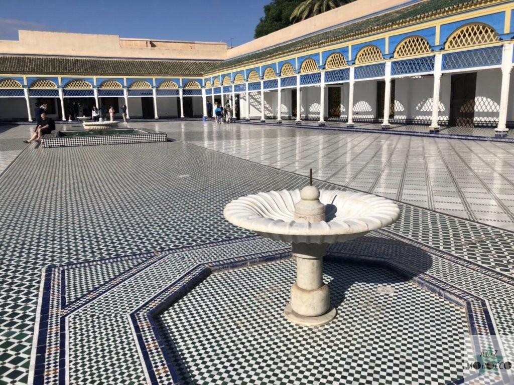 バヒア宮殿の中庭