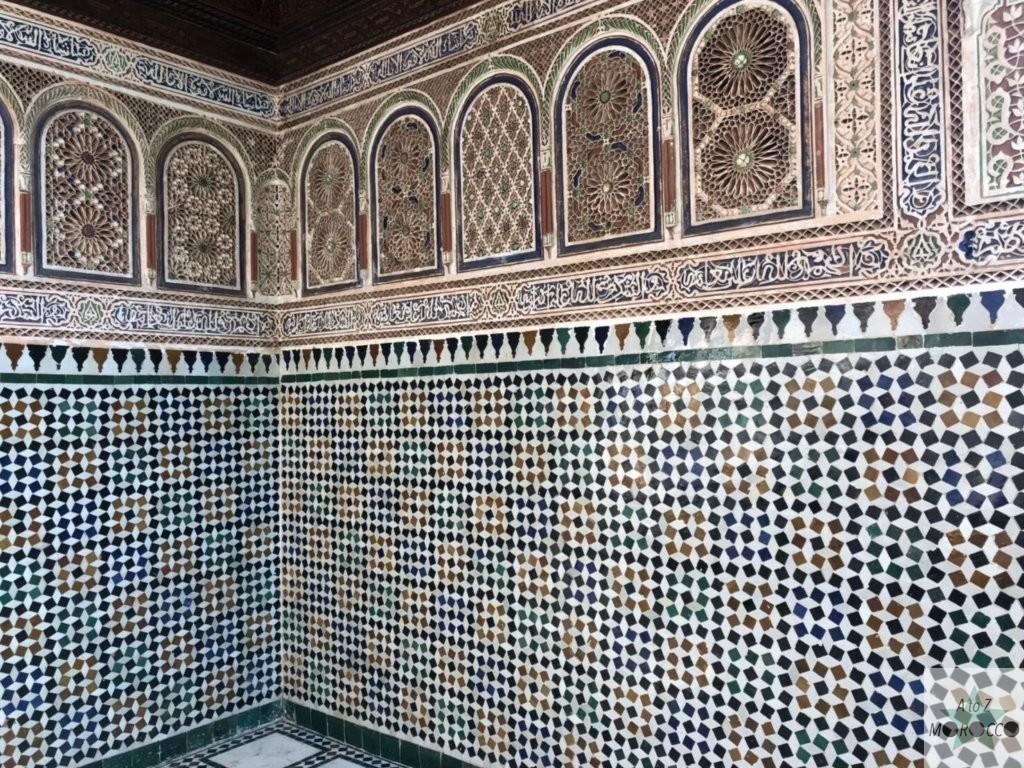 バヒア宮殿の内装