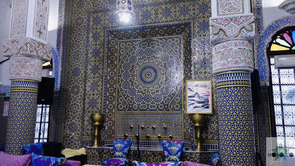 モロッコのフェズのレストラン