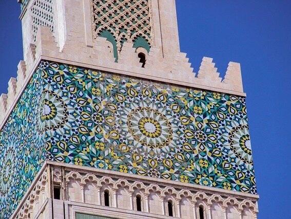 ハッサン2世モスクの装飾