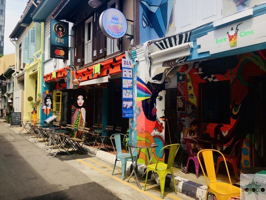 シンガポールのアラブストリート