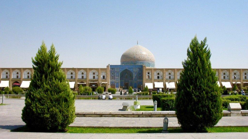 イスファハンのイマームモスクの外観