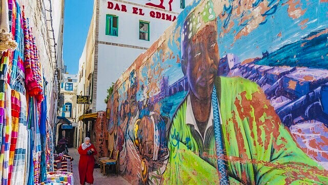 モロッコのストリート