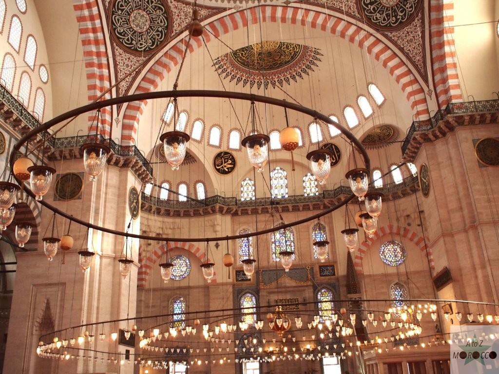 トルクのモスクの内部