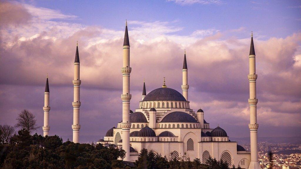トルコのブルーモスク