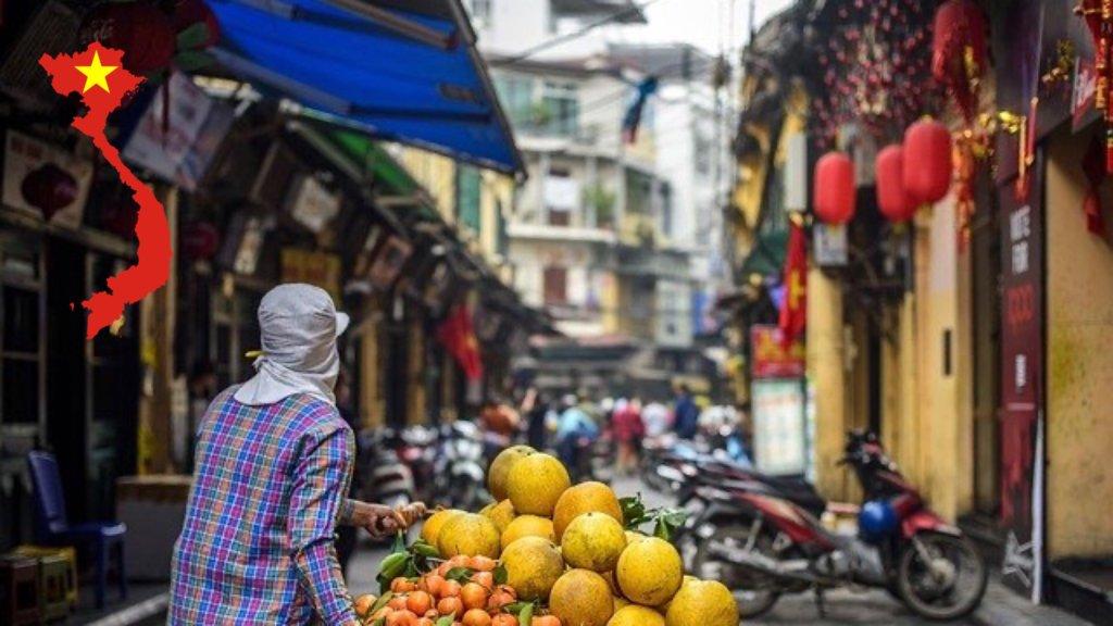 ベトナムのストリート