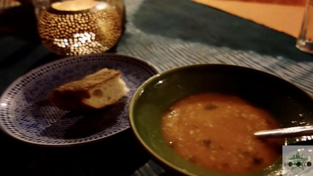 モロッコのハリラスープ