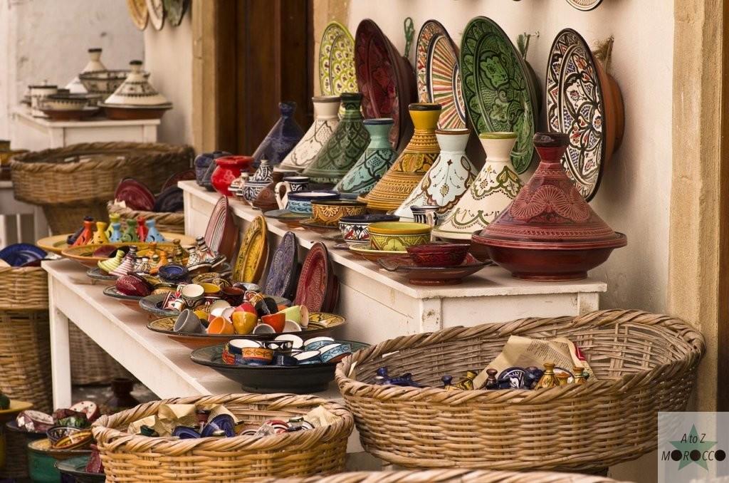 モロッコのタジン鍋やお皿