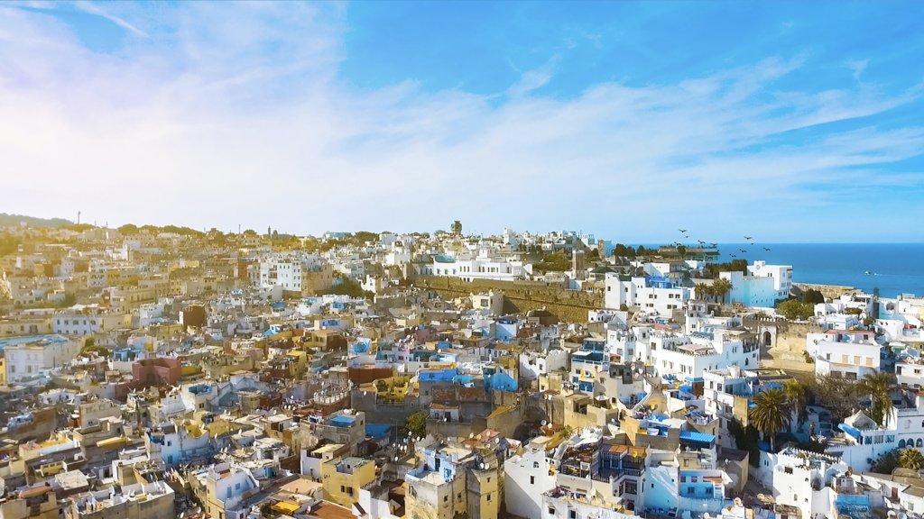 モロッコのテトゥアンのメディナ
