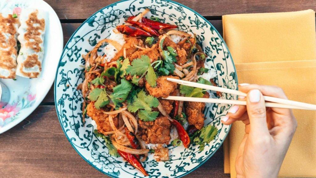 アジアの食事
