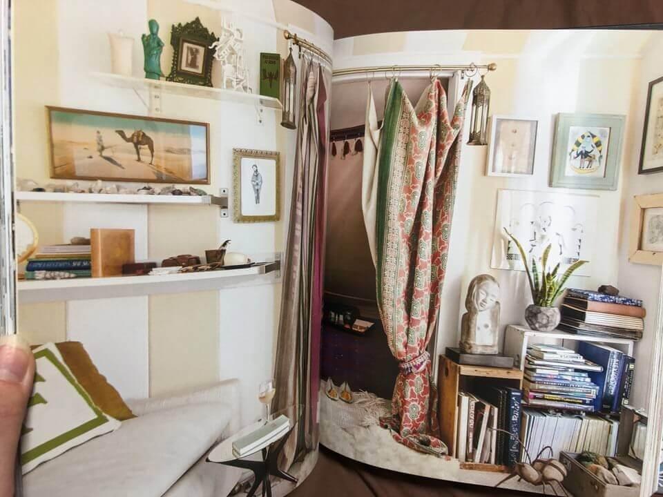 ボヘミアンブックのルームの例のページ