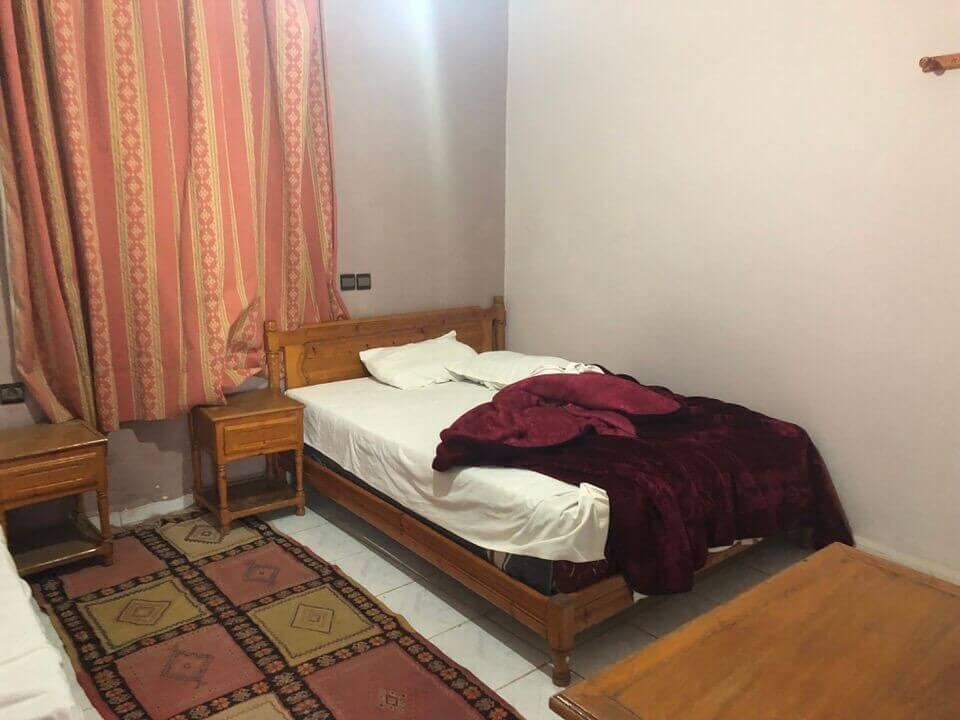 フェズのホテルの部屋