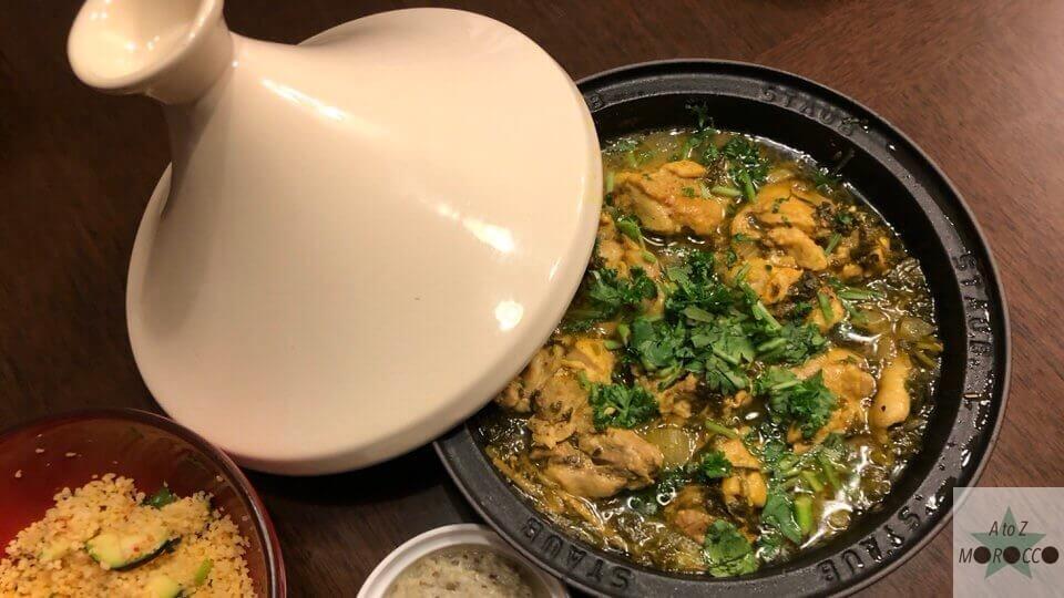 モロッカンチキンタジン鍋